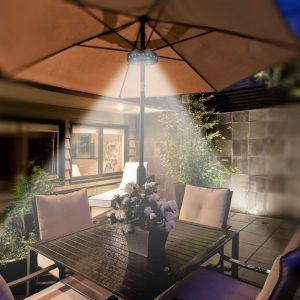 QPAU Outdoor Umbrella Light