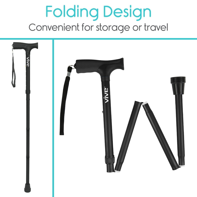 Vive Folding Cane for Men