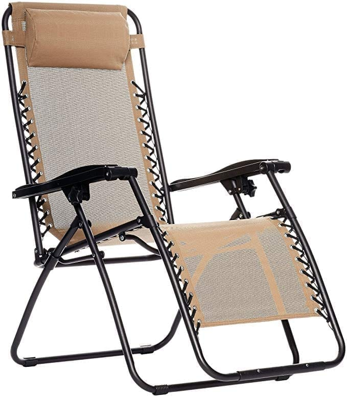 AmazonBasics Outdoor Zero Gravity Folding Chair