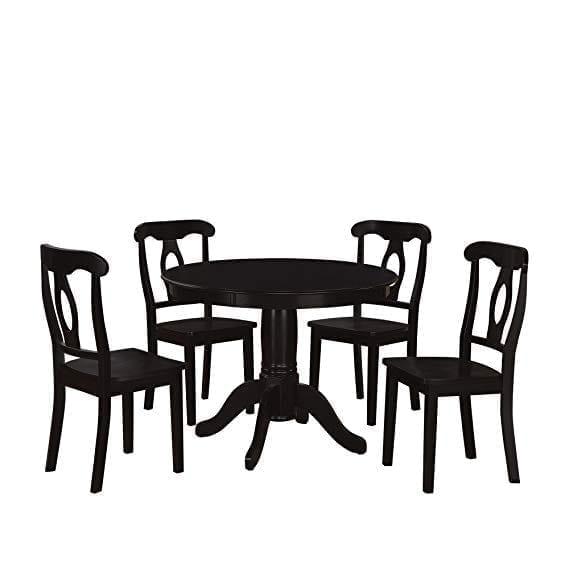 Aubrey 5 Piece Pedestal Dining Set