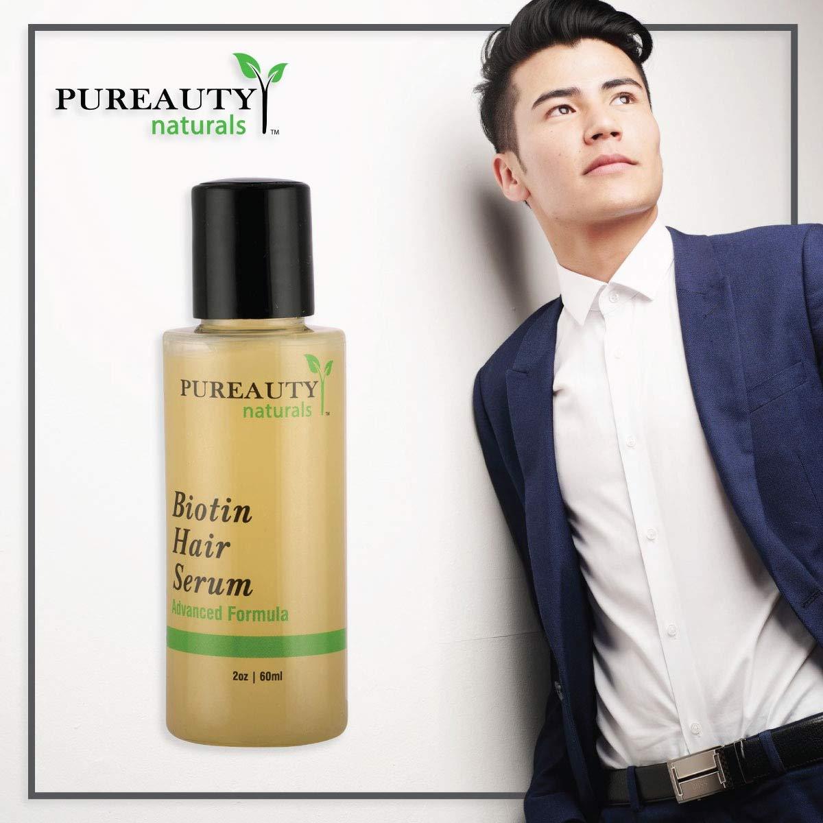 Biotin Hair Growth Serum by Pureauty Naturals
