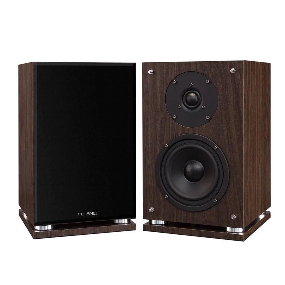 Fluance SX6W High Definition Two-Way Bookshelf Loudspeakers
