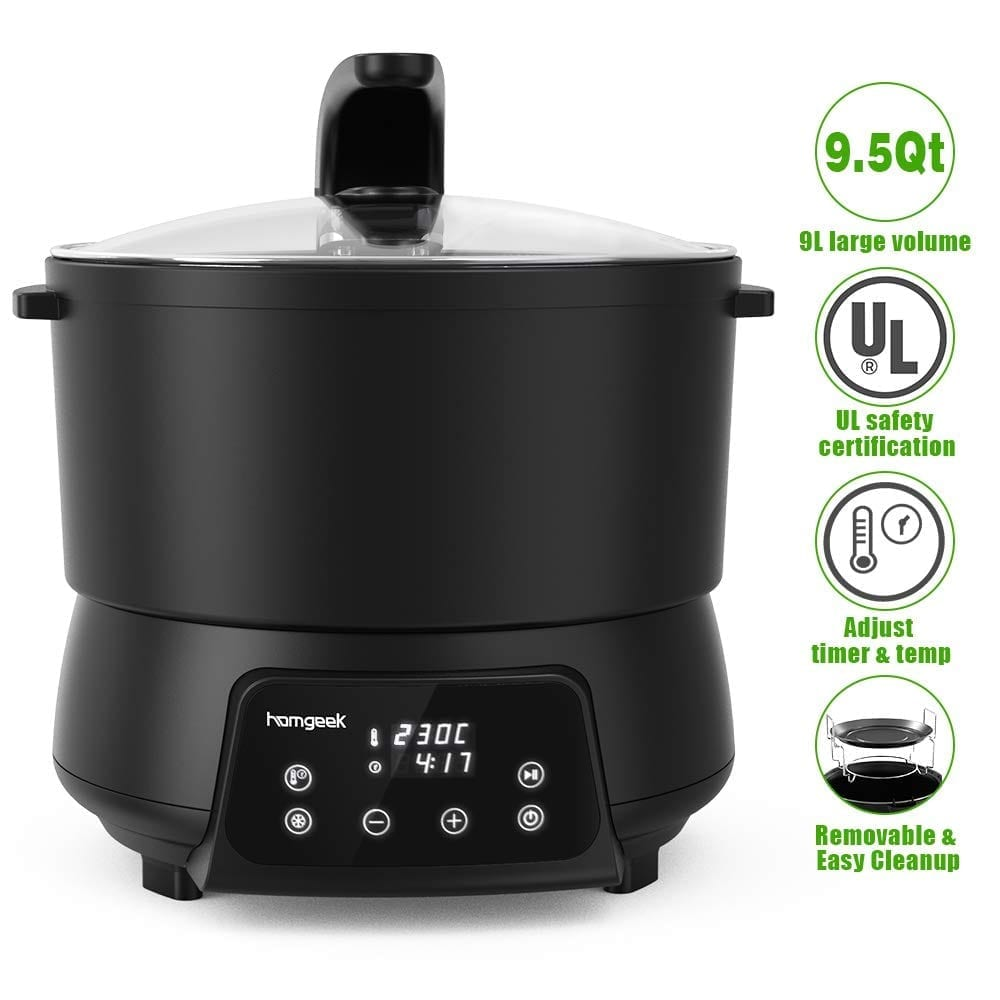 Homgeek Electric Air Fryer