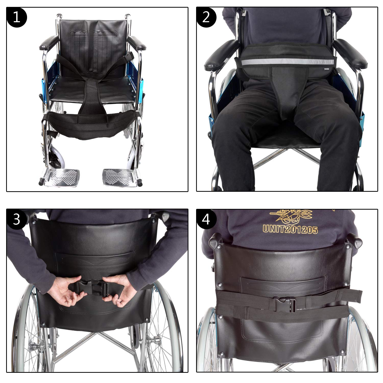L.E.D STEP Wheelchair Seat Belt Restraint Systems
