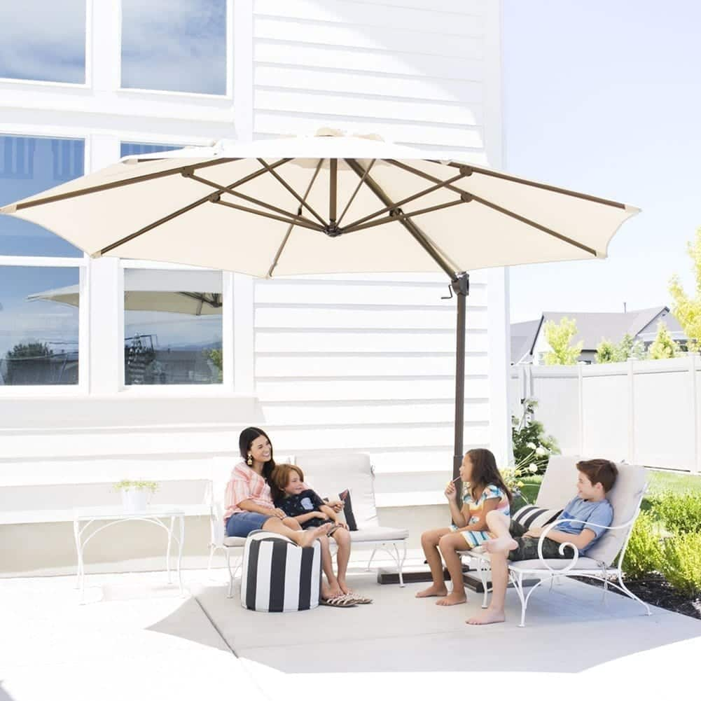 Top 10 Large Patio Umbrellas In 2019 - Ultimate Product ...