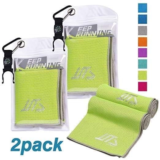 NOVOs 2 Pack Instant Cooling Sports Towel