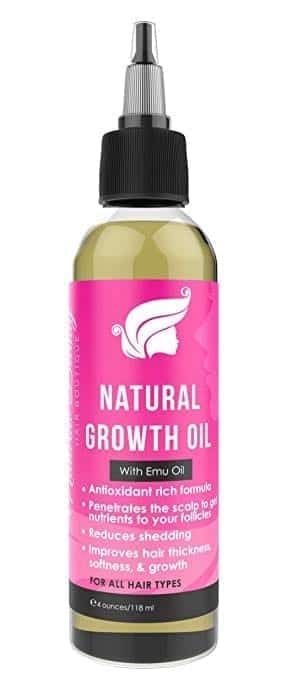 Natural Beauty Hair Boutique Hair Growth Oil with Emu Oil