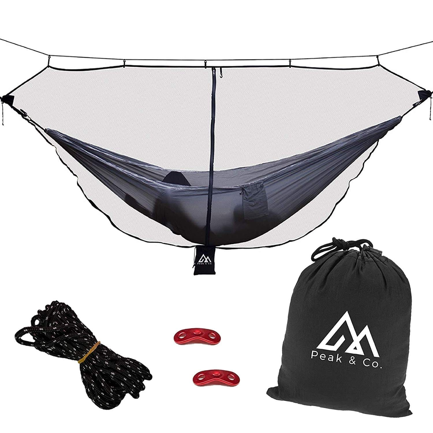 Peak & Co. Hammock Bug & Mosquito Net