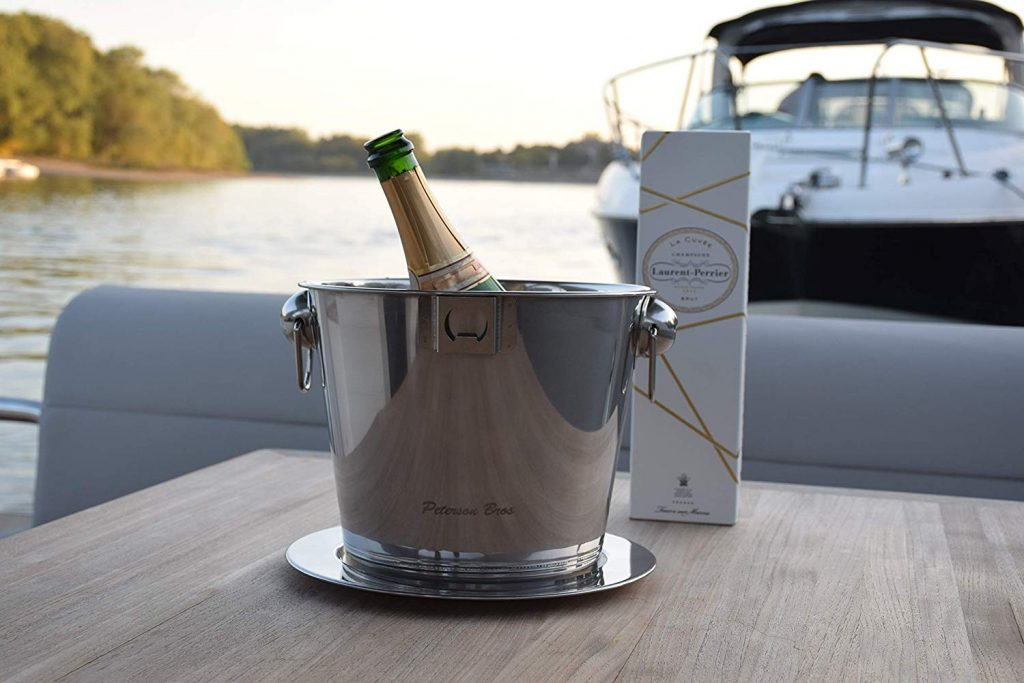 Peterson Bros Champagne Bucket Ice Cooler