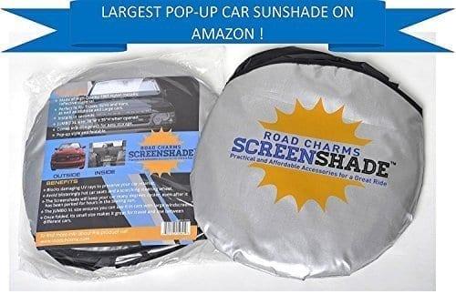 Road Charms Jumbo XL Windshield Sun Shade