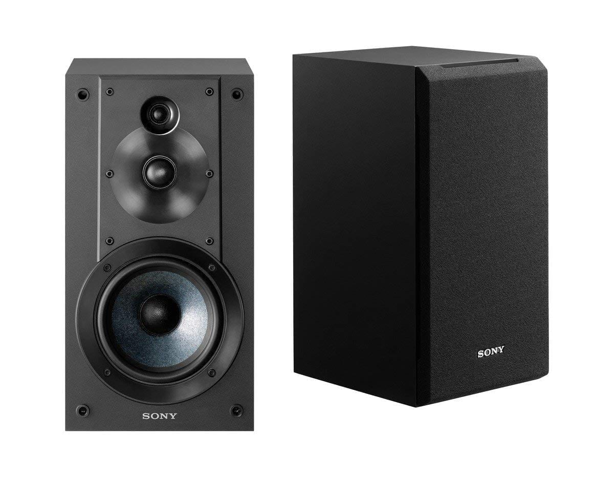 Sony SSCS5 3-Way 3-Driver Bookshelf Speaker System