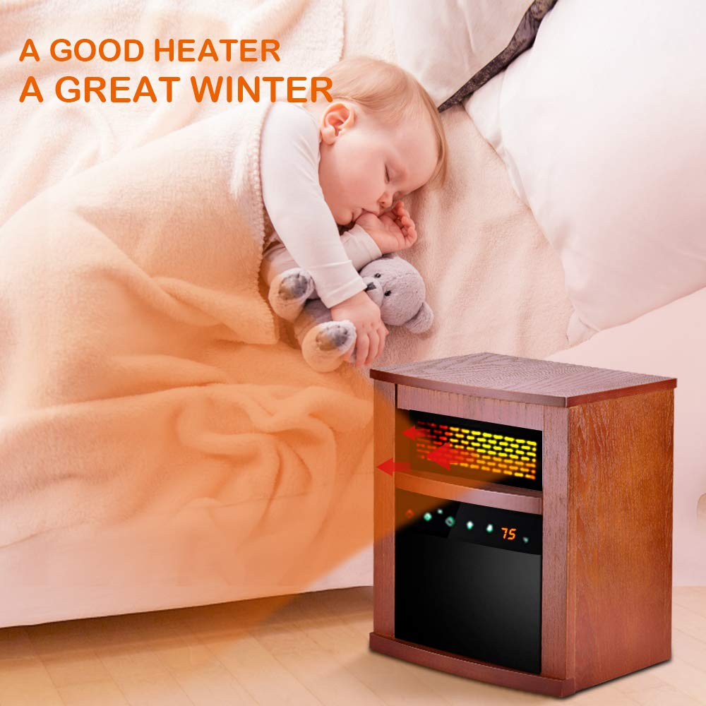 The Best Electric Infrared Heaters With Remote Control – Reviewed 2019