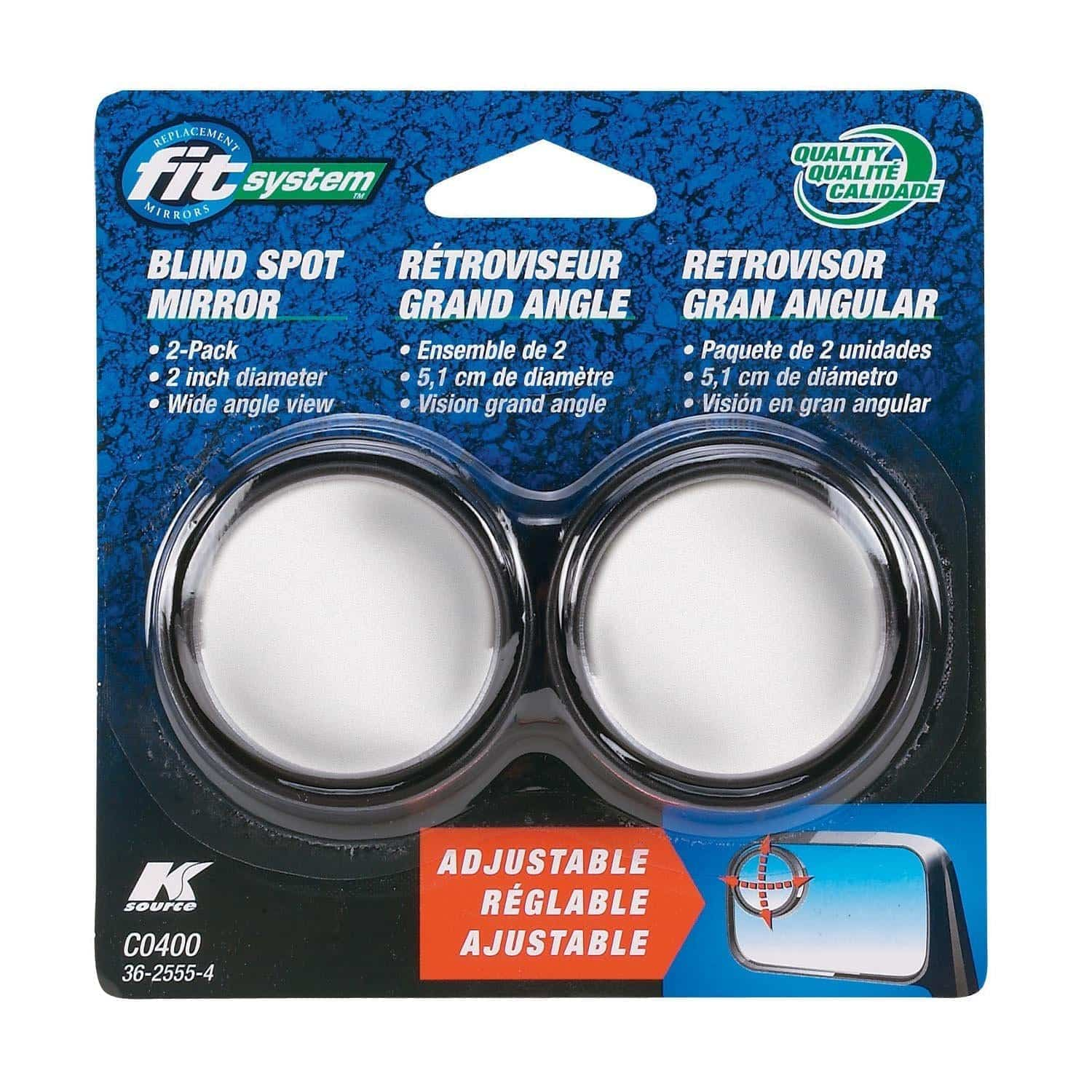 Fit System C0400 Adjustable Blind Spot Mirrors