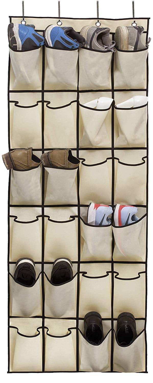 MISSLO Over the Door Shoe Organizer