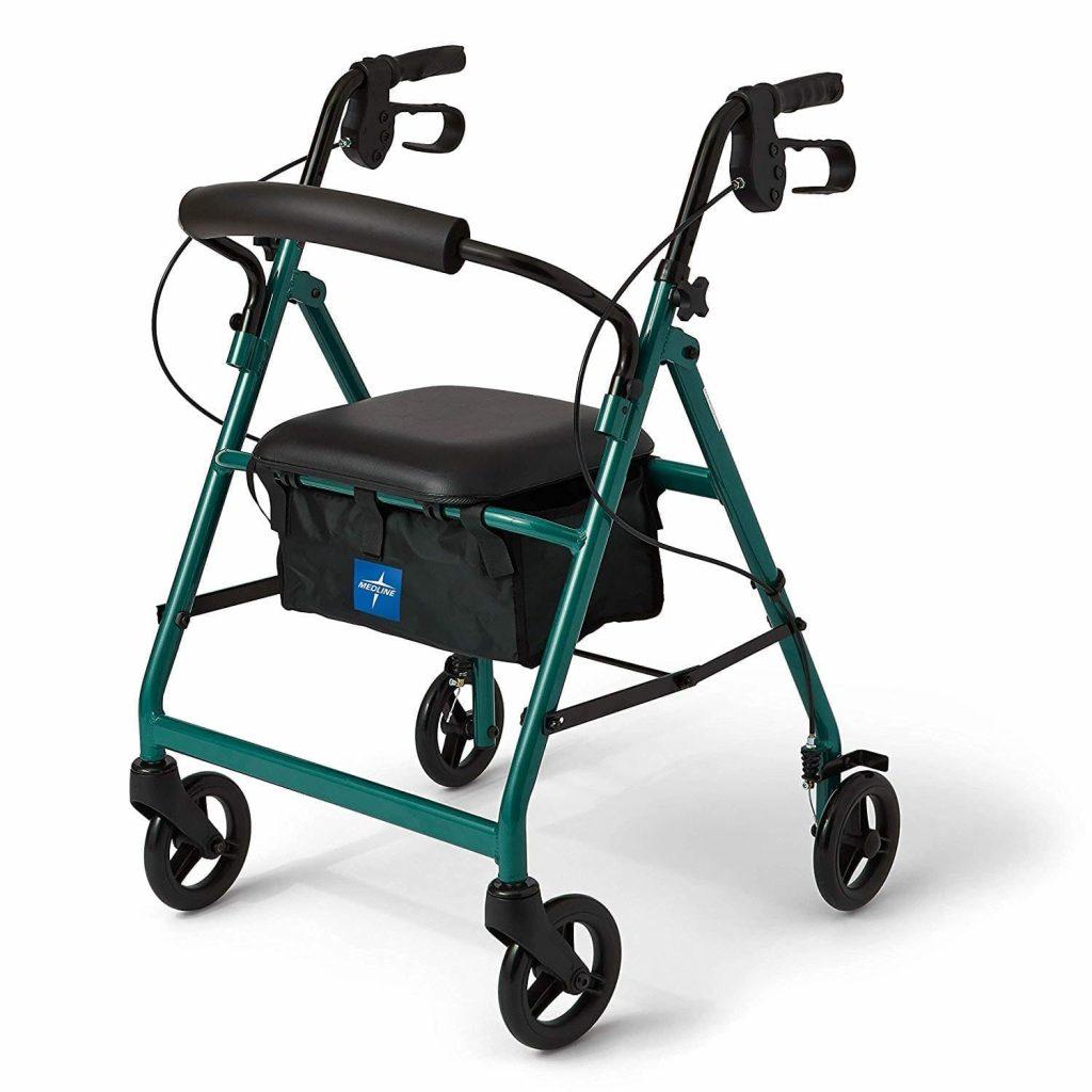 Medline Aluminum Rollator walker
