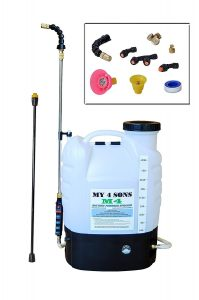 My 4 Sons 4-Gallon Backpack Sprayer