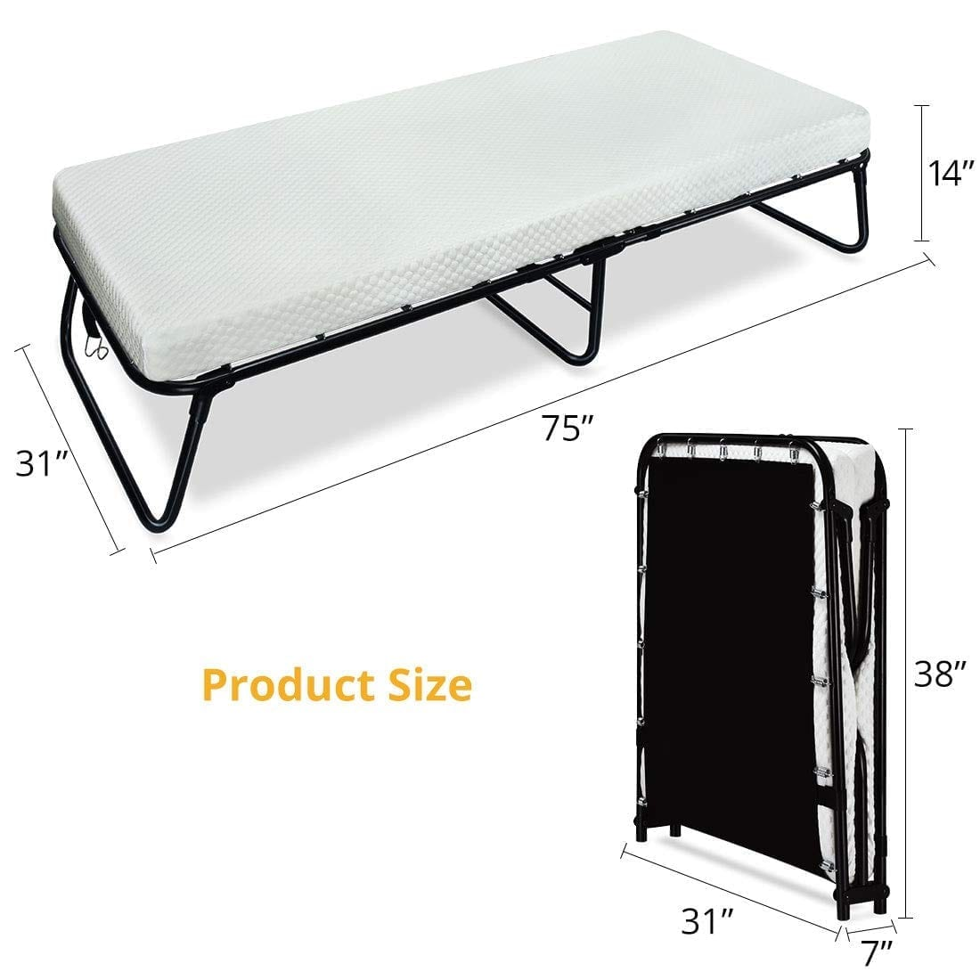 Quictent Folding Guest Bed