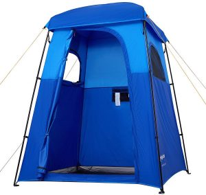 Oversize Outdoor Camping Shower Tent by KingCamp