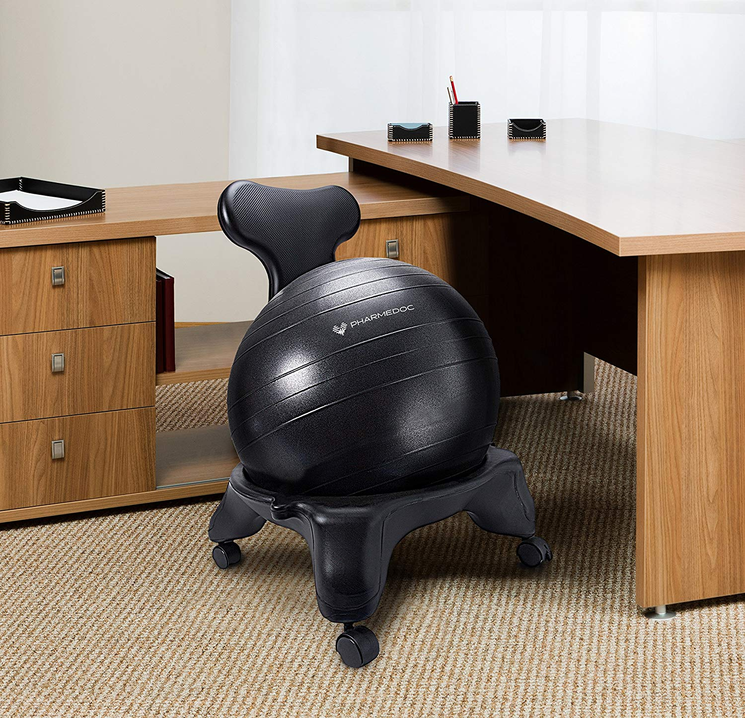 PharMeDoc Balance Ball Chair