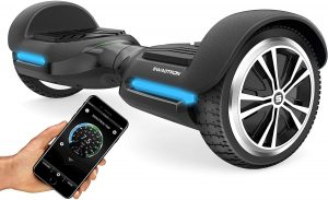 Swagtron App-Enabled Bluetooth Smart Self-Balancing Hoverboard