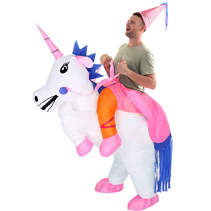YEAHBEER Unicorn Suit Halloween Cosplay Fantasy Costumes