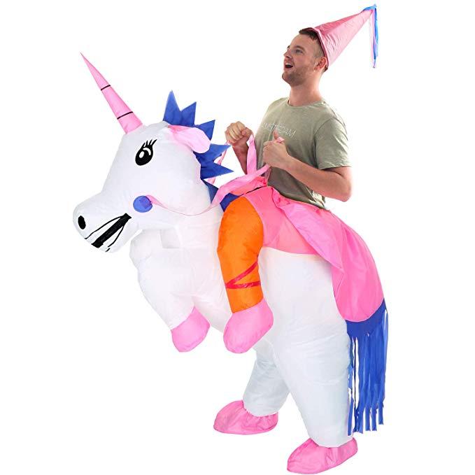 YEAHBEER Unicorn Suit Halloween Cosplay Fantasy Costumes