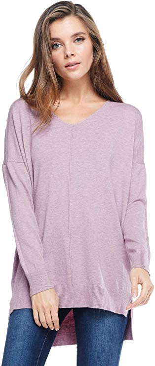 A+D Women's Long Sleeved Pullover Sweater