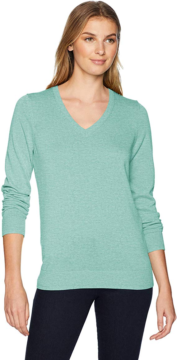 Amazon Essentials Women's V-Neck Sweater