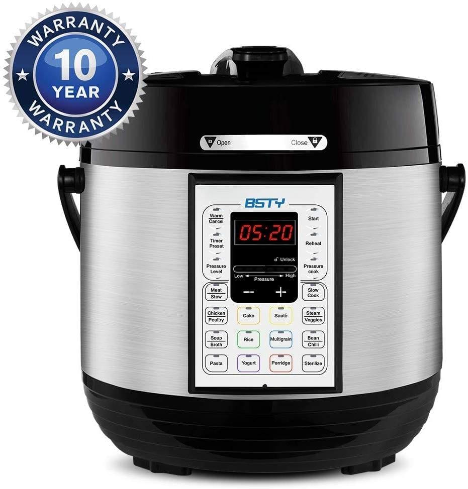 BSTY Home premium 6 quart pressure cooker