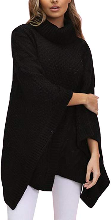 BerryGo Women's Batwing Sleeve Sweater
