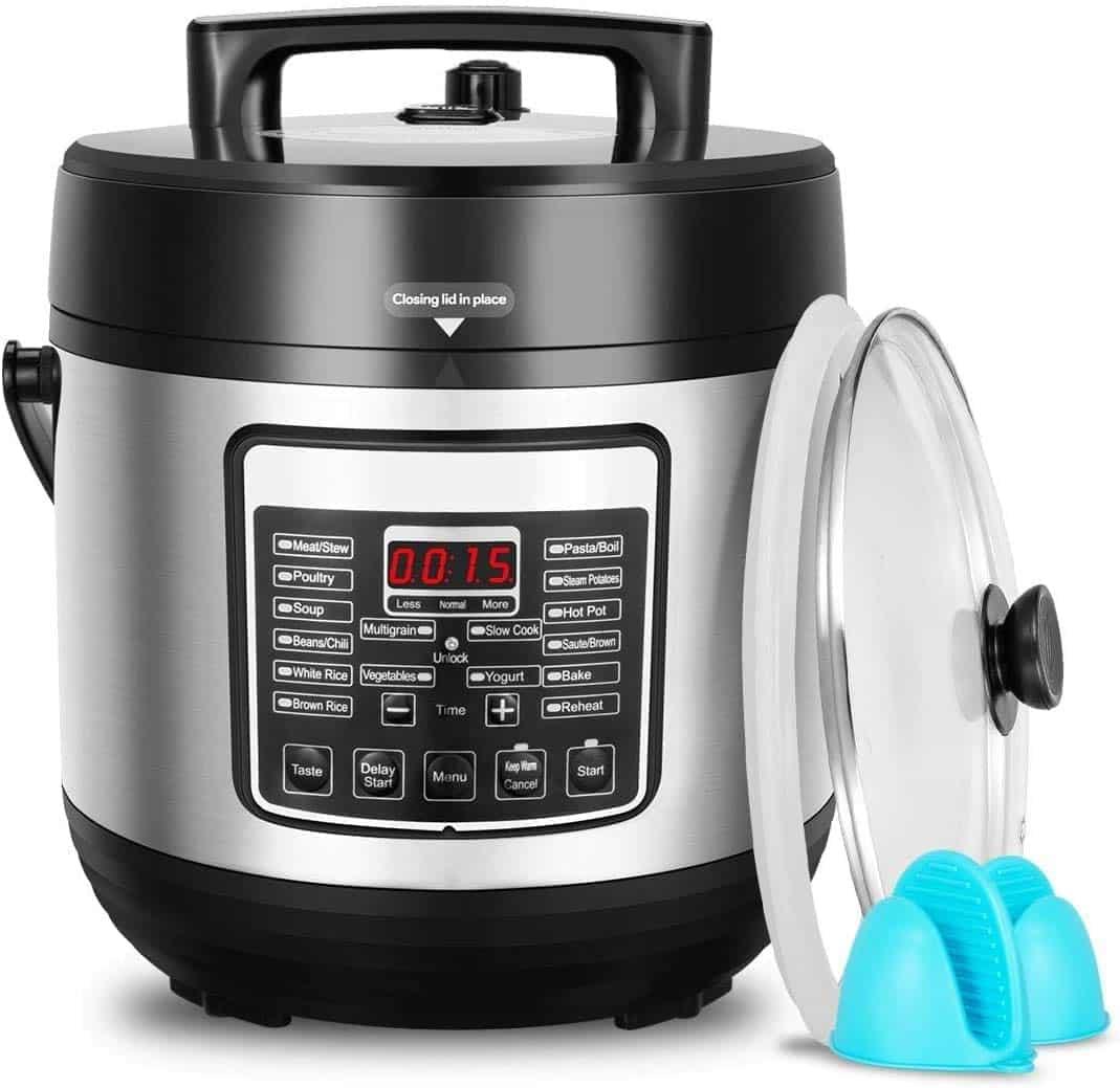 Deenkee 6 Quart Multi-Function pressure cooker