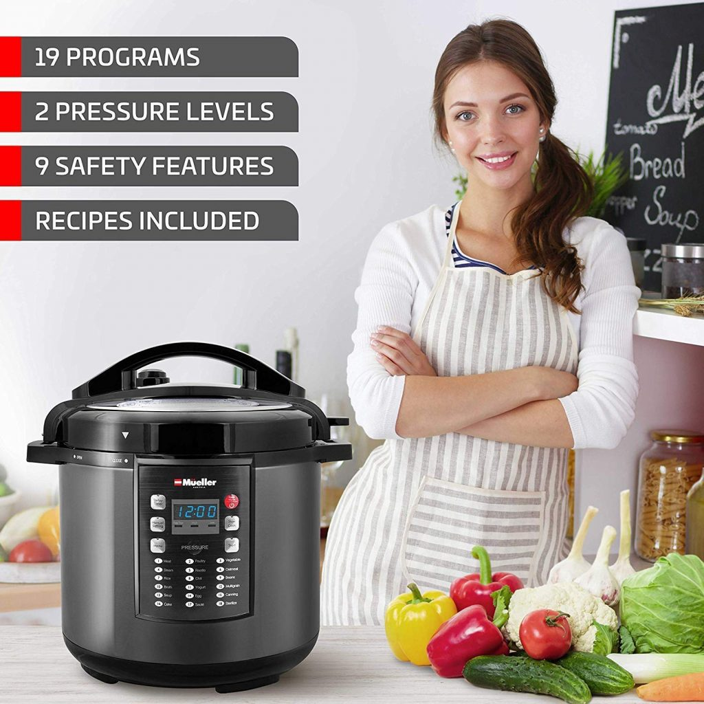 Top 10 Best Electric Pressure Cookers in 2019 – Reviews & Buying Guide