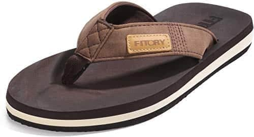 Fitory Men's Beach Slippers
