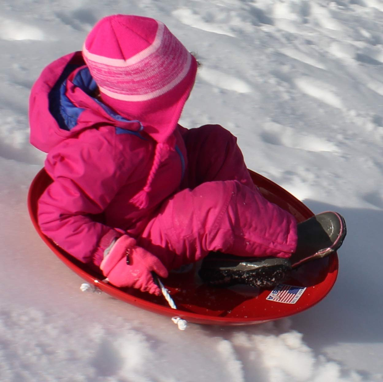 Flexible Flyer Metal Snow Saucer Sled