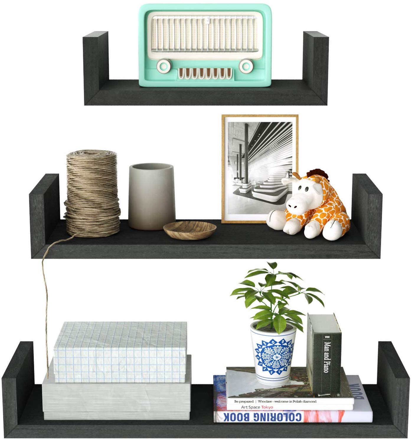 Floating Shelves by SRIWATANA