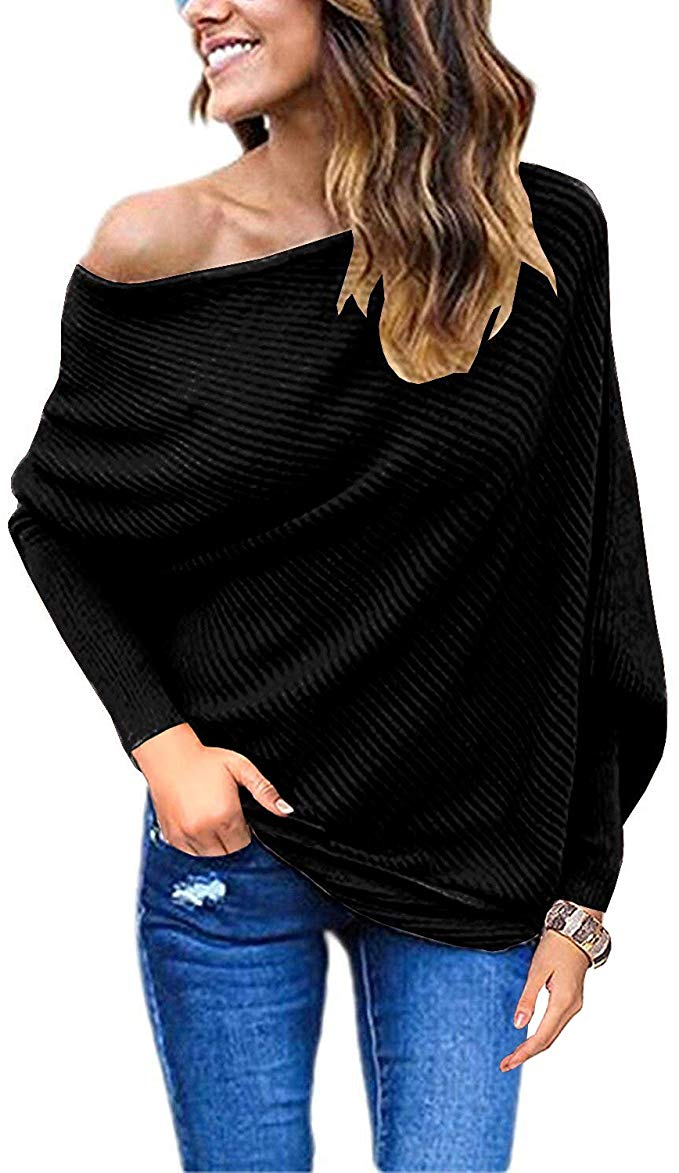 Goldstitch Women's Off Shoulder Sweater