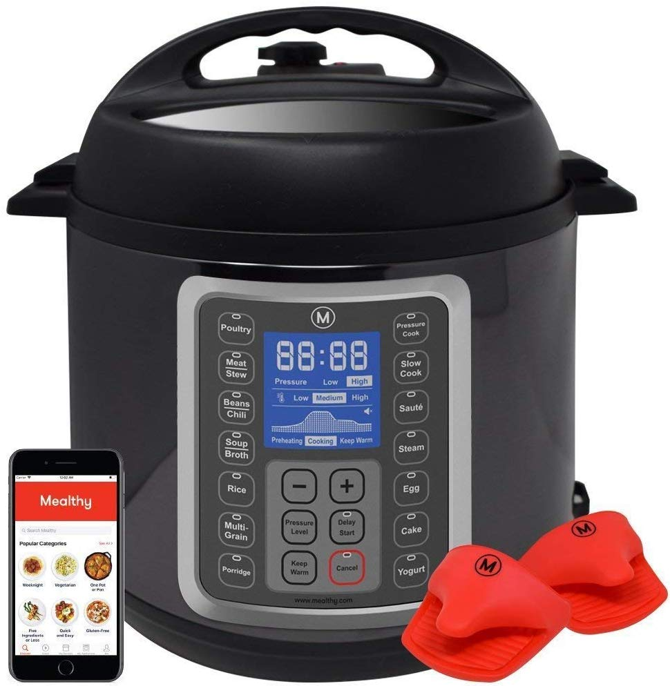 Mealthy Multi-Pot 9-in-1 programmable pressure cooker
