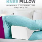 Memory Foam Knee Pillows for Side Sleepers