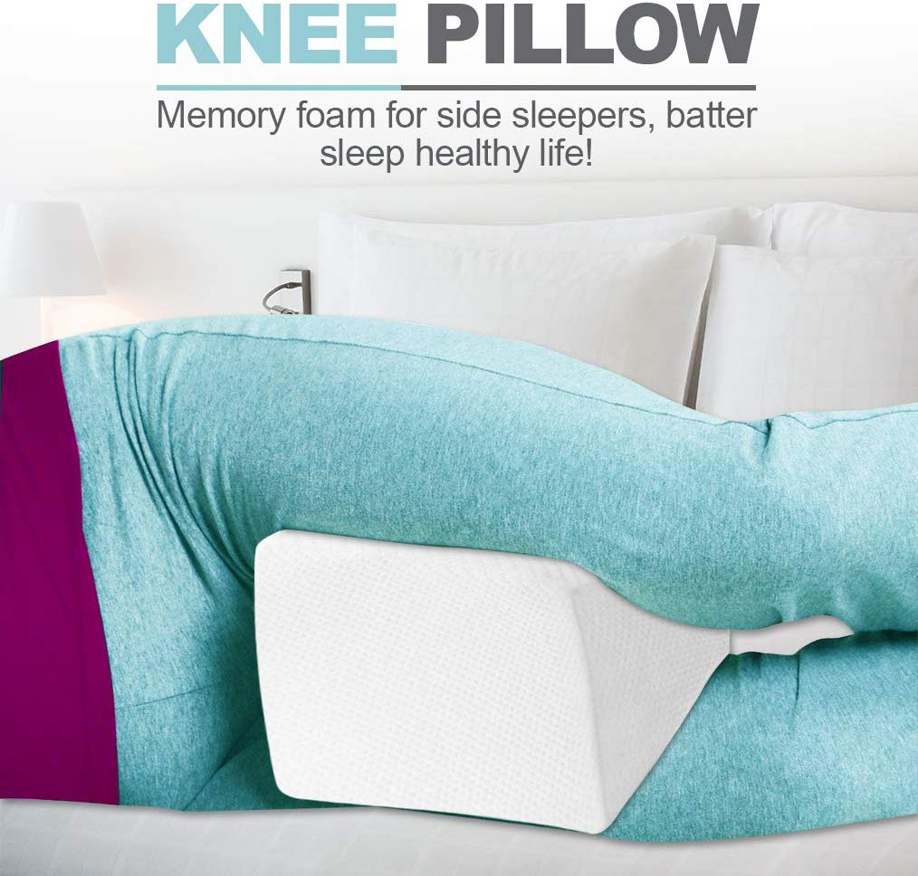 Top 10 Best Memory Foam Knee Pillows for Side Sleepers in 2019