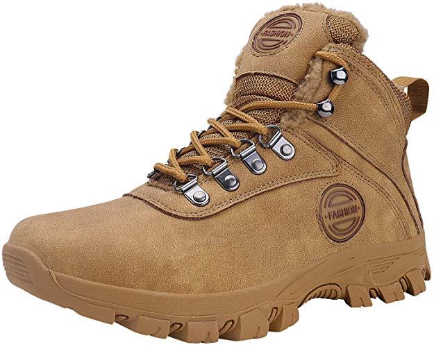 WYHAN Men's Snow Boots