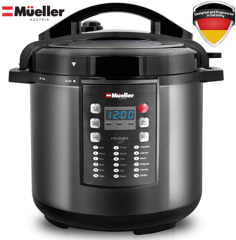 Mueller Austria Instant Crock 10-in-1 electric pressure cooker
