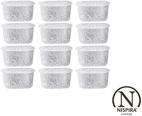 NISPIRA Activated Charcoal Replacement Water Filters