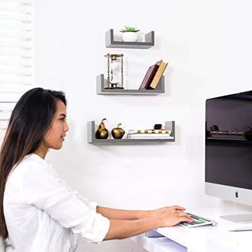 Set of 3 Floating Shelves by Adorn Home Essentials