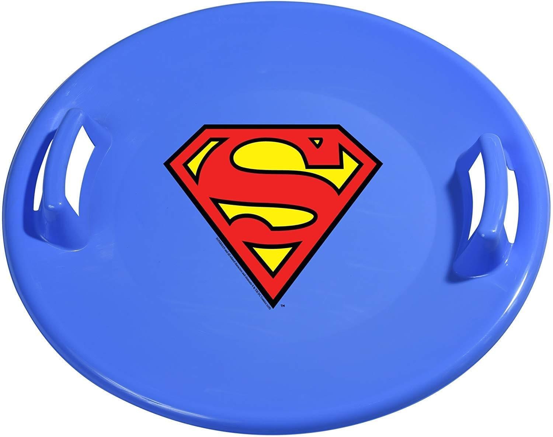 Slippery Racer Superman Saucer Snow Sled