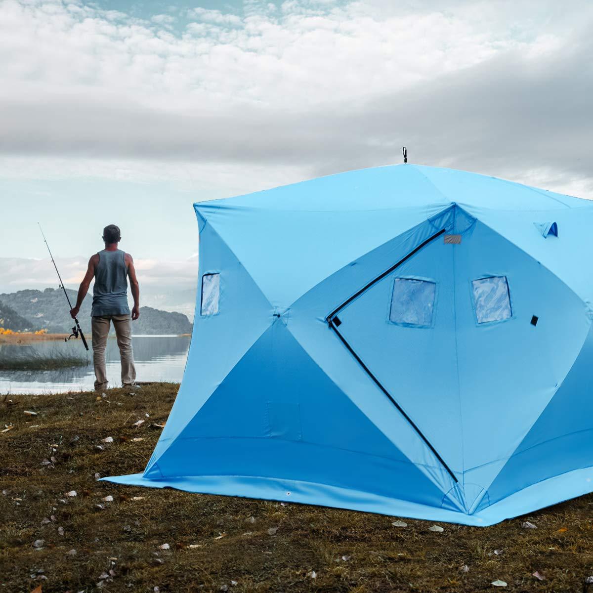 Shappell® Bay Runner™ Sled-base Ice Shelter - 582331, Ice ...  Ice Fishing Shelters