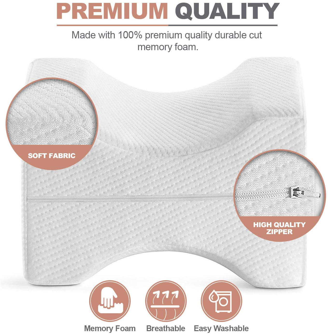 Trademark Supplies Leg Positioner Pillow