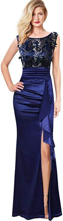 VFSHOW Formal Evening Maxi Dress