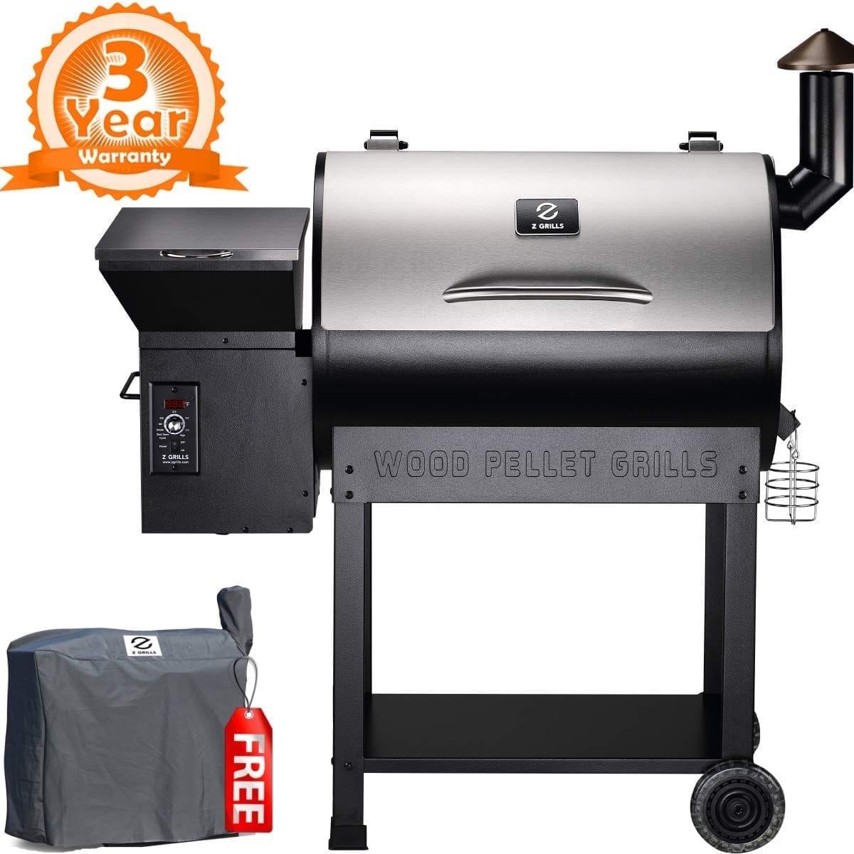 Z GRILLS ZPG-7002E 2019 New Model Grill