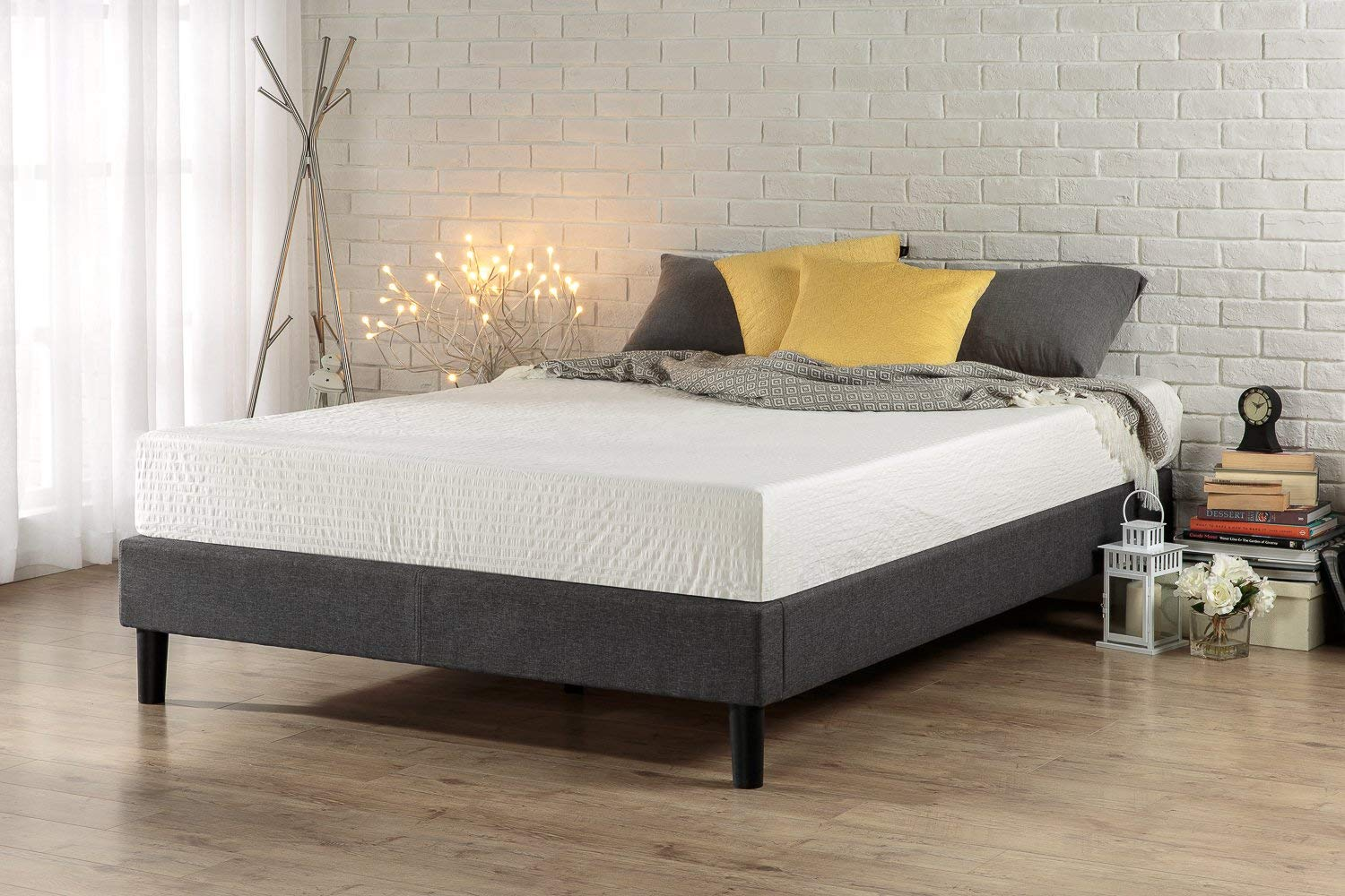 Zinus Curtis Upholstered Bed Frame