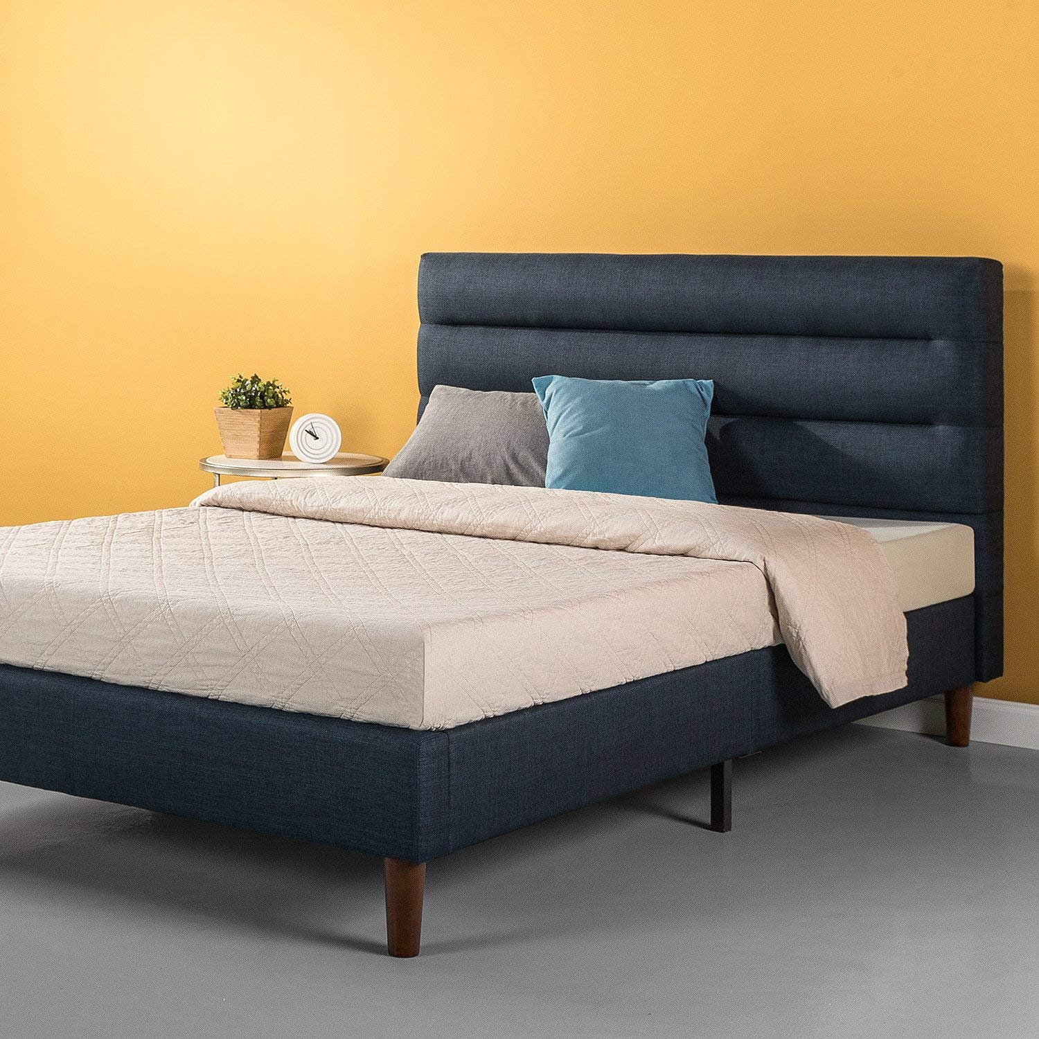Zinus Cushioned Platform Bed